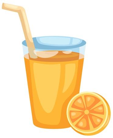 Orangensaft vector