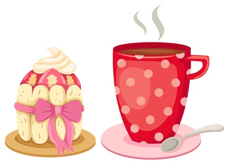 teacup: afternoon tea with a gourmet cupcake