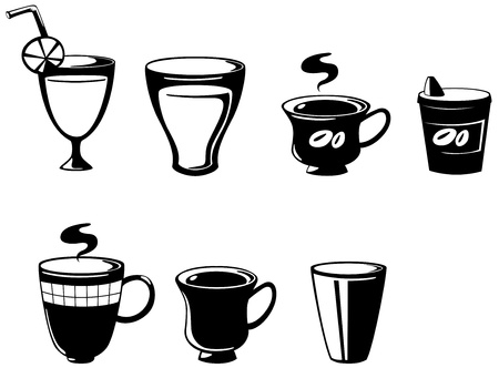 illustration of isolated set drink vector Stock Vector - 17623541