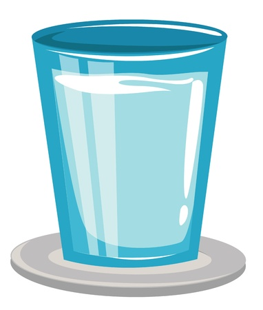 glass with water Stock Vector - 17623591