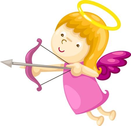 messengers of god: Cupid vector