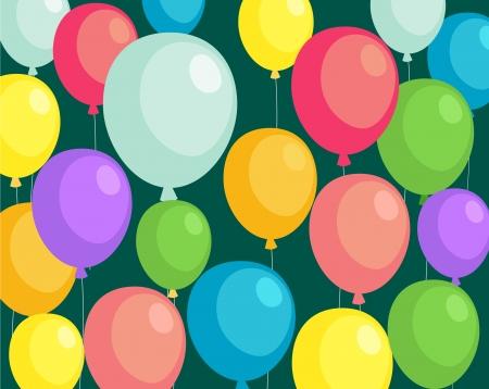 background balloons   Stock Vector - 17847753