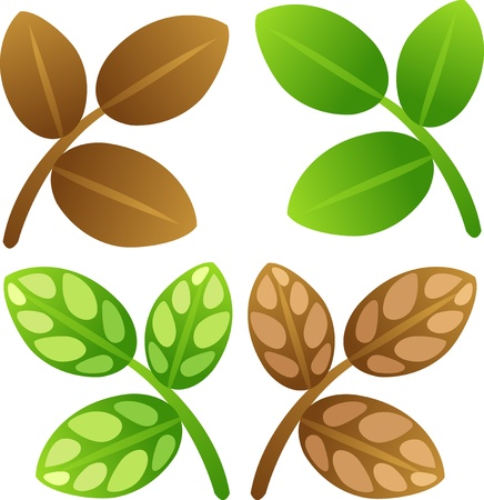 leaves Stock Vector - 17848364