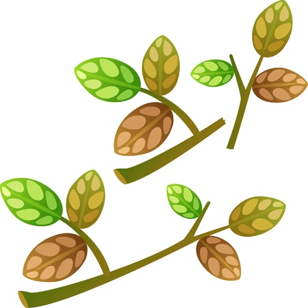 leaves Stock Vector - 17848365