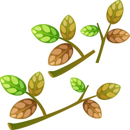 leaves Stock Vector - 17848365