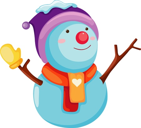 Snowman Stock Vector - 17848814
