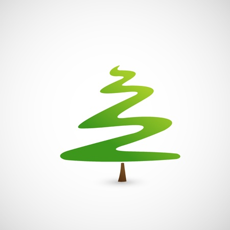 Pine tree icon  Stock Vector - 18870704