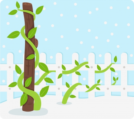 Tree Background illustration Stock Vector - 19191857