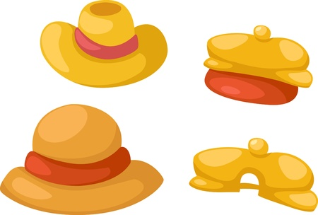 requisite: hat isolated on white background