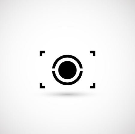 lens: Camera symbol Illustration