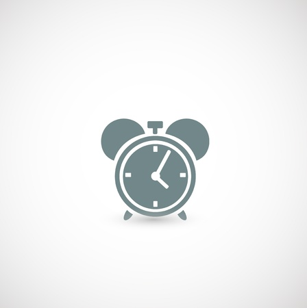alarm clock icon Stock Vector - 19191852