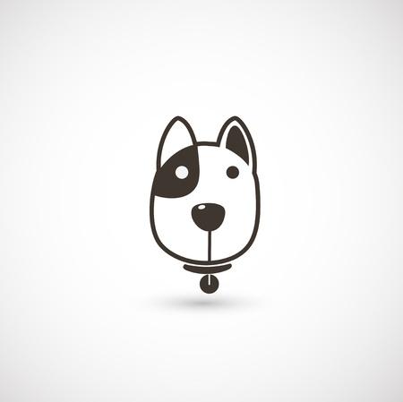 dog nose: icon cane