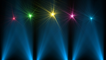 color digital camera: Abstract background lighting flare Stock Photo