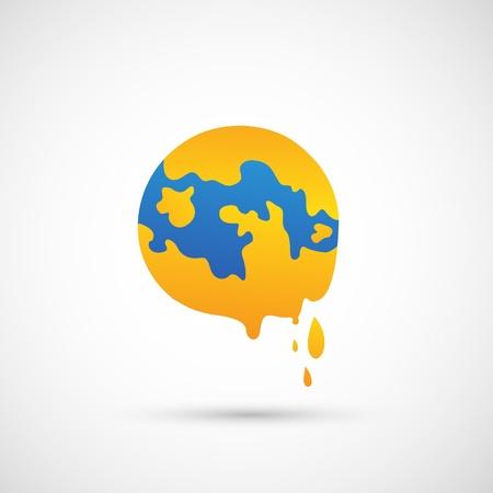 thaw: global warming icon