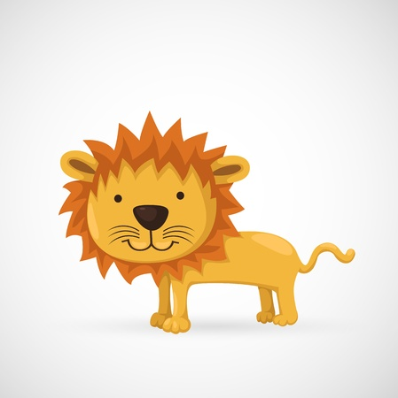 illustration of isolated lion  Stock Vector - 19717709