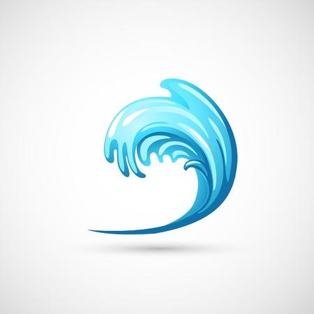 tide: onda de agua Vectores