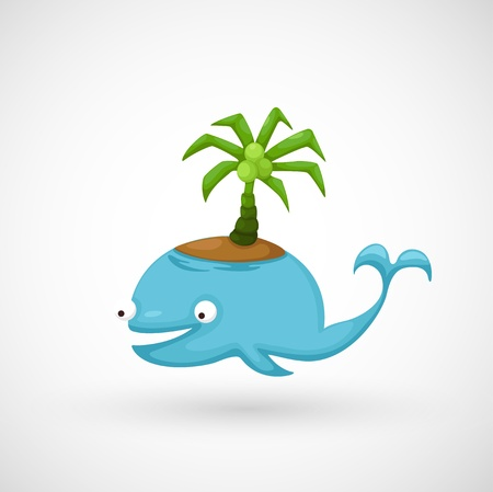 illustration of isolated Whale  Stock Vector - 20194560