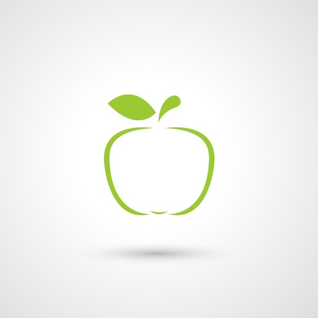 Apple Icon vector  Vector
