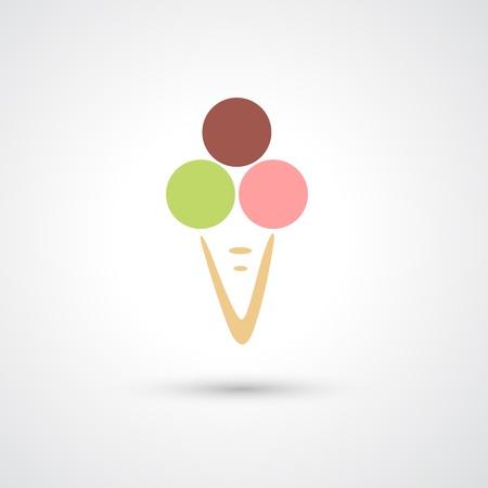 gelato stecco: Icona del gelato
