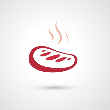 kobe: meat icon  Illustration