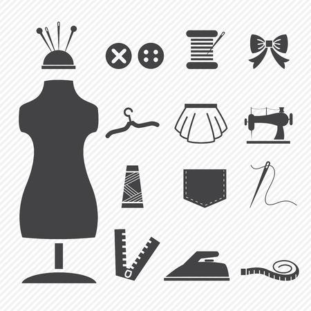 mannequin: Couture icônes d'équipement