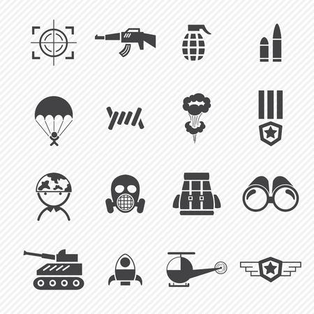Militär und Krieg Icons
