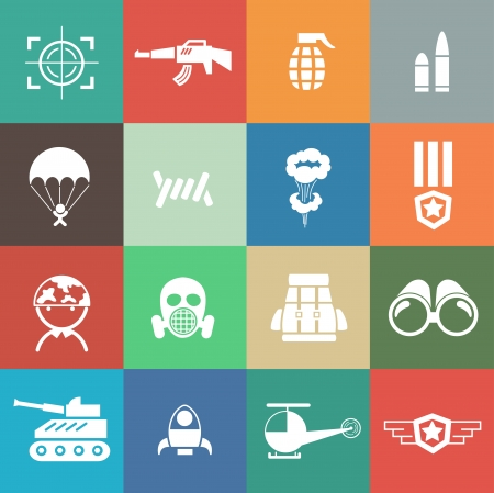 chaser: Military and war icons