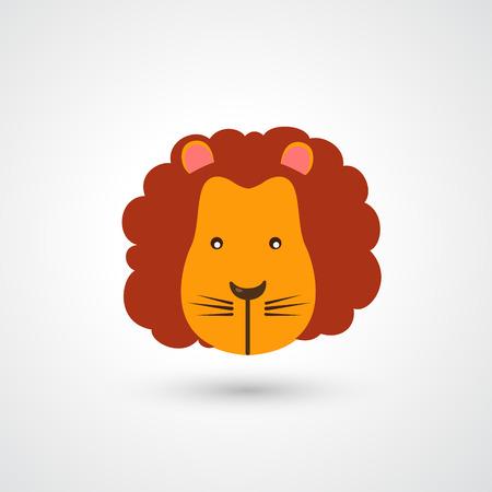 dominance: Cabeza de le�n vector icon