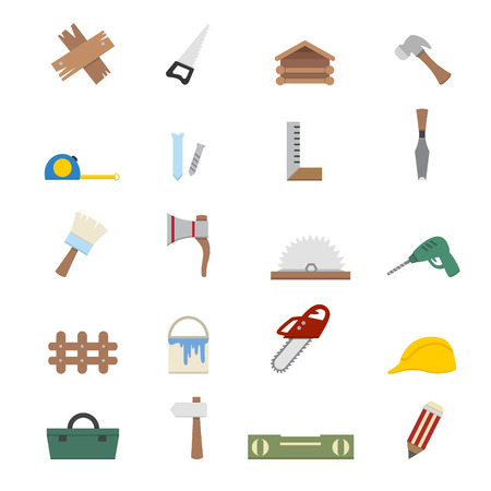 Carpentry icons Vector