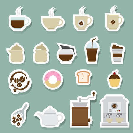disposable: Coffee and tea Icons