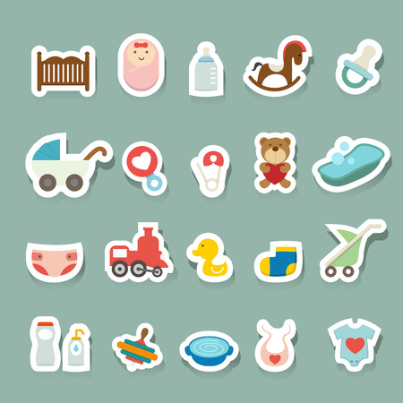 Baby pictogrammen set