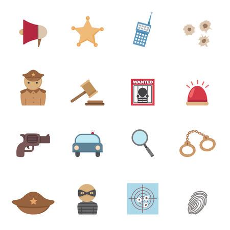 culprit: Police Icons