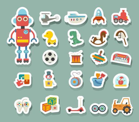 Giocattoli vettore icona