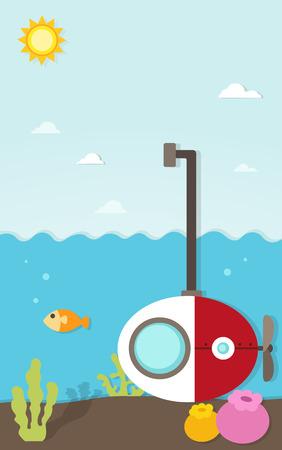 periscope: submarine under the sea paper