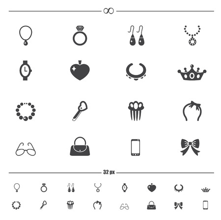 leather belt: Accessory icons