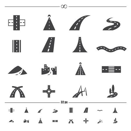 road iconen