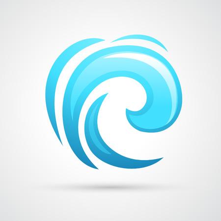 water wave vector Vector