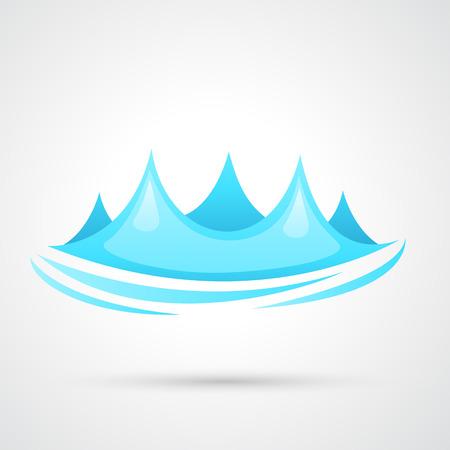 wasserwelle: Wasserwellenvektor
