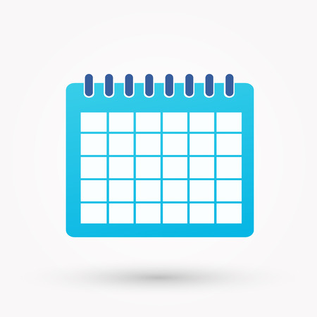 ring binder: Calendar icon Illustration