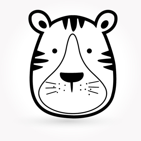 タイガー アイコン 写真素材 - 28743870