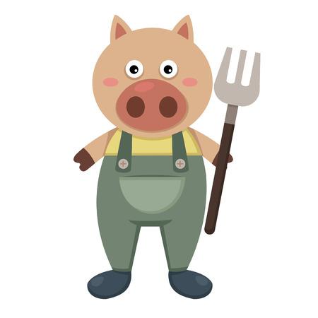 pig out: farmer pig