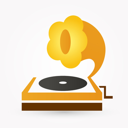 architectural styles: gramophone icon