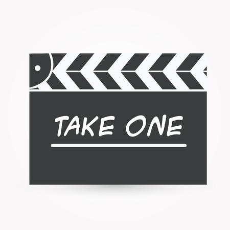 cinematographer: Movie clap icon
