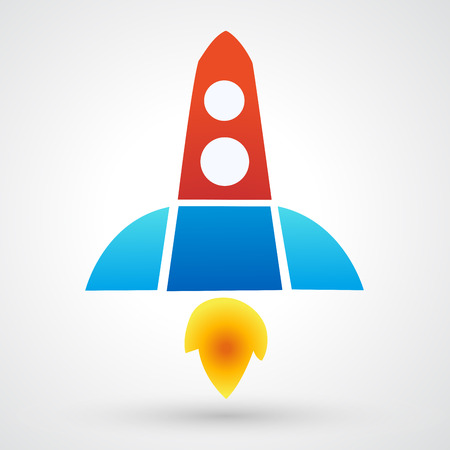 Vector Rocket Icon Vector
