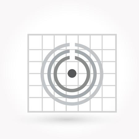 Icon cycle diagram icon Vector