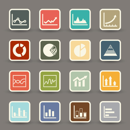 infographics icons  vector eps10 Vector