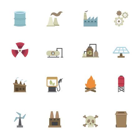 Factory iconen vector eps10