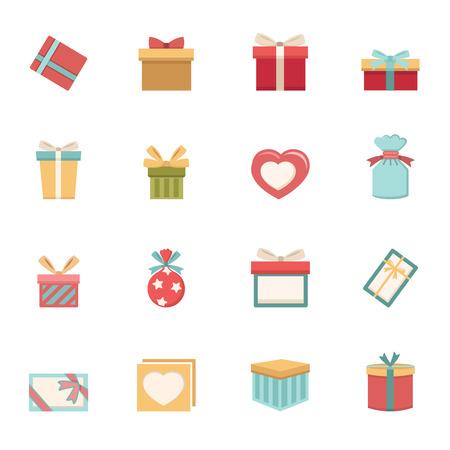 선물 상자 벡터 eps10 아이콘 일러스트