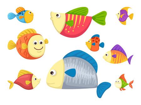 nemo: Illustrator of isolated fish vector