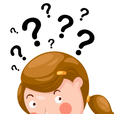 confused person: illustration of